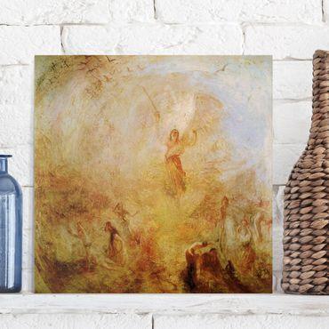 Leinwandbild - William Turner - Der Engel vor der Sonne - Quadrat 1:1
