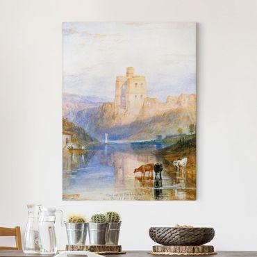 Leinwandbild - William Turner - Norham Castle - Hoch 3:4