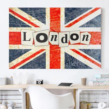 Leinwandbild - Yeah London - Quer 3:2