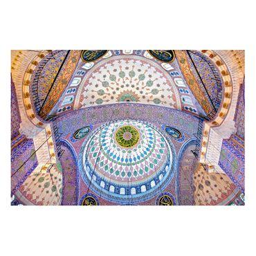 Magnettafel - Blaue Moschee in Istanbul - Memoboard Querformat