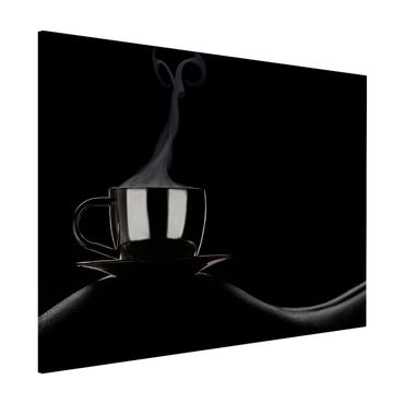 Magnettafel - Coffee in Bed - Memoboard Quer