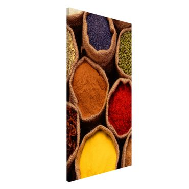 Magnettafel - Colourful Spices - Memoboard Hoch
