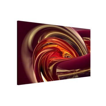 Magnettafel - Fantastic Burning - Memoboard Quer