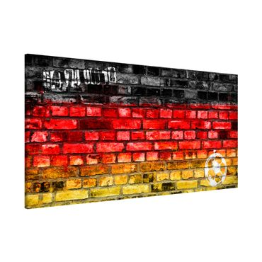 Magnettafel - Germany Stonewall - Memoboard Panorama Quer
