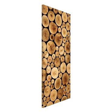 Magnettafel - Homey Firewood - Memoboard Panorama Hoch