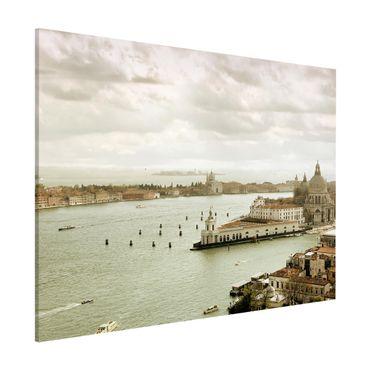 Magnettafel - Lagune von Venedig - Memoboard Quer