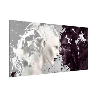 Magnettafel - Milk & Coffee - Memoboard Panorama Quer