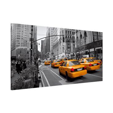 Magnettafel - New York,New York! - Memoboard Panorama Quer