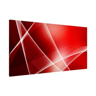 Magnettafel - Red Heat - Memoboard Panorama Quer