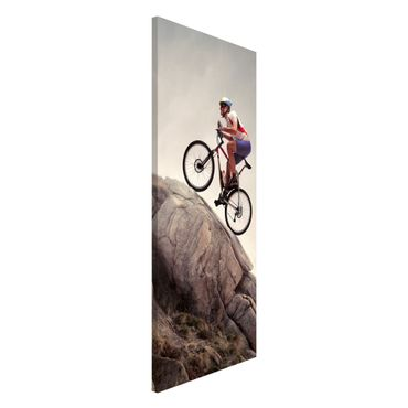 Magnettafel - Riding Up That Hill - Memoboard Panorama Hoch