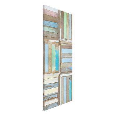 Magnettafel - Rustic Timber - Memoboard Panorama Hoch