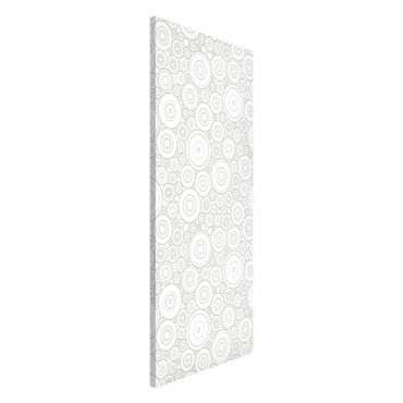 Magnettafel - Sezession White Light Grey - Memoboard Panorama Hoch