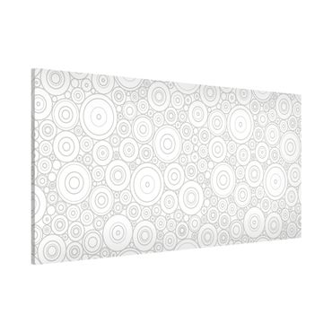 Magnettafel - Sezession White Light Grey - Memoboard Panorama Quer
