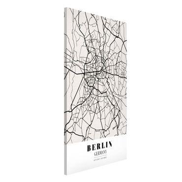 Magnettafel - Stadtplan Berlin - Klassik - Memoboard Hochformat
