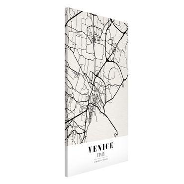 Magnettafel - Stadtplan Venice - Klassik - Memoboard Hochformat