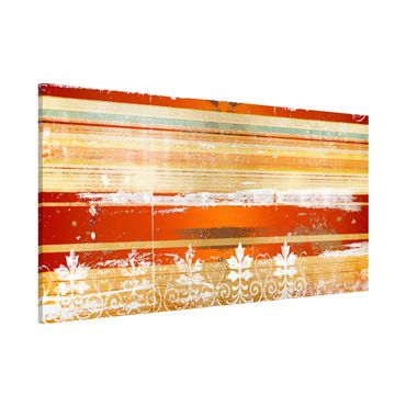 Magnettafel - Streaky I - Memoboard Panorama Quer