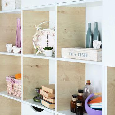 Möbelfolie - Apfelbirke Holzklebefolie - Folie für Möbel selbstklebend