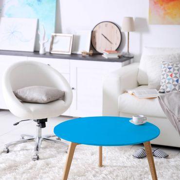 Möbelfolie blau einfarbig - Enzian - Klebefolie für Möbel mittelblau