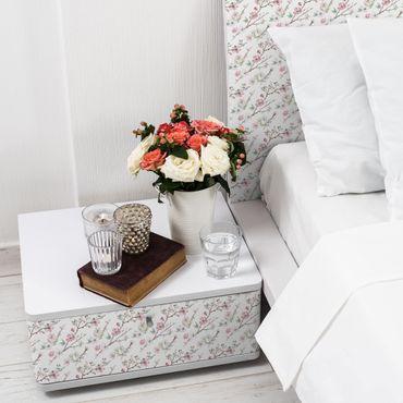 Möbelfolie - Kirschblütenzweige Aquarell