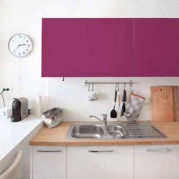 Möbelfolie Orchidee einfarbig - Klebefolie für Möbel pink - selbstklebend