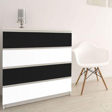 Möbelfolie schwarz-weiß Farbset zum selbst gestalten