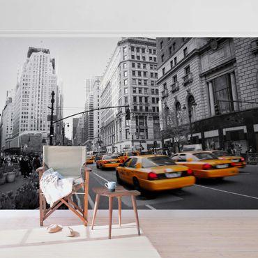 Metallic Tapete  - New York, New York!