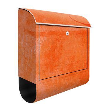 Briefkasten - Oranger Stier