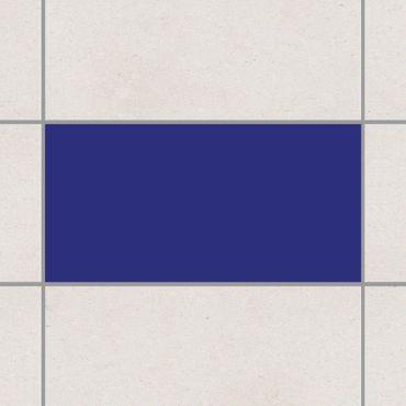Fliesenaufkleber - Königsblau