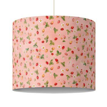 Hängelampe - Erdbeerinchen Erdbeerfee - Erdbeerblüten