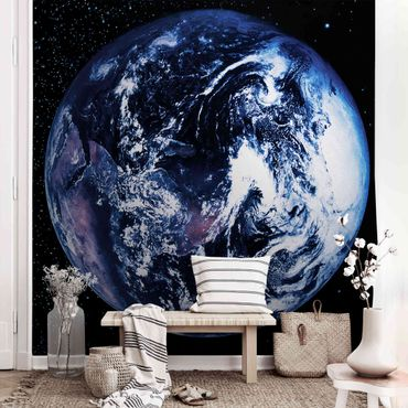 Metallic Tapete  - Planet Earth