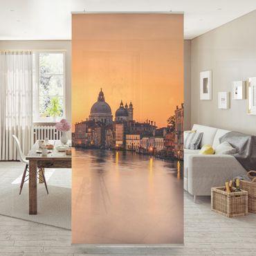 Raumteiler - Goldenes Venedig - 250x120cm