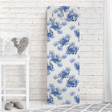 Shabby Chic Garderobe - Floral Print - im Shabby Chic Look