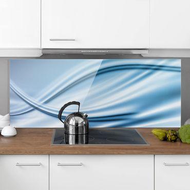 Spritzschutz Glas - Abstract Design - Panorama Quer
