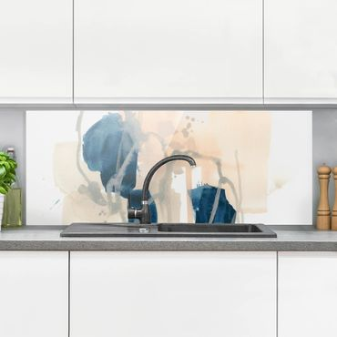 Spritzschutz Glas - Azurit I - Panorama