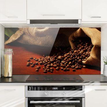 Spritzschutz Glas - Dulcet Coffee - Quer 2:1
