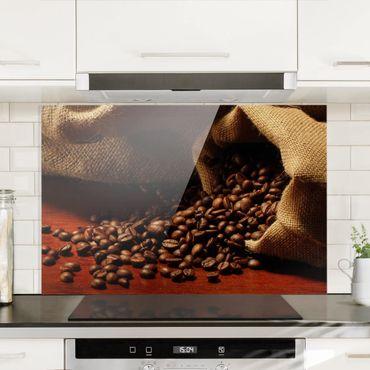 Spritzschutz Glas - Dulcet Coffee - Quer 3:2