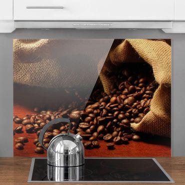 Spritzschutz Glas - Dulcet Coffee - Quer 4:3
