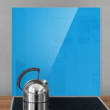 Spritzschutz Glas - Enzian - Quadrat 1:1