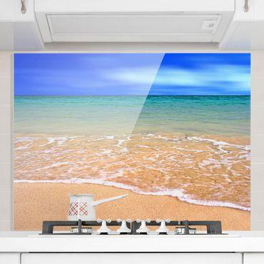 Spritzschutz Glas - Indian Ocean - Quer 4:3