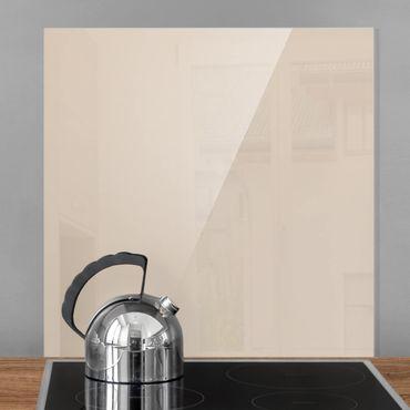 Spritzschutz Glas - Macchiato - Quadrat 1:1