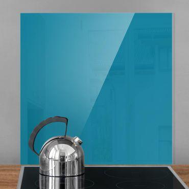 Spritzschutz Glas - Petrol - Quadrat 1:1