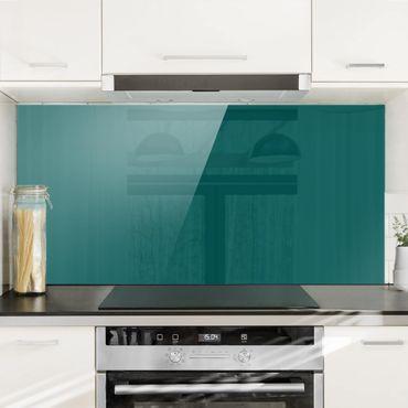 Spritzschutz Glas - Piniengrün - Quer 2:1