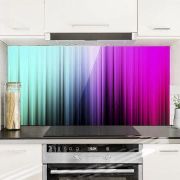 Spritzschutz Glas - Rainbow Display - Quer 2:1