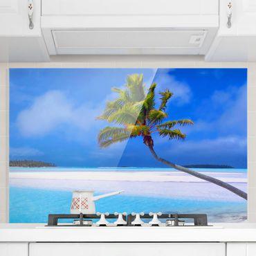 Spritzschutz Glas - Tropical Dream - Quer 3:2
