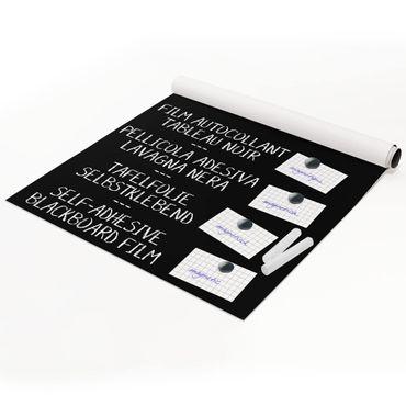 Tafelfolie magnetisch - Blackboard selbstklebend - Arbeitszimmer