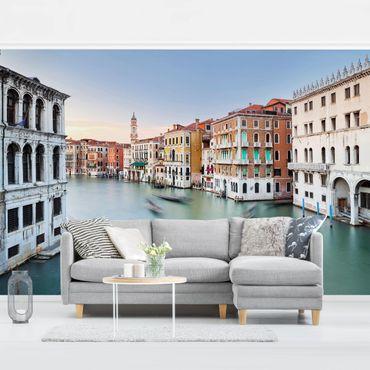 Fototapete - Canale Grande Blick von der Rialtobrücke Venedig