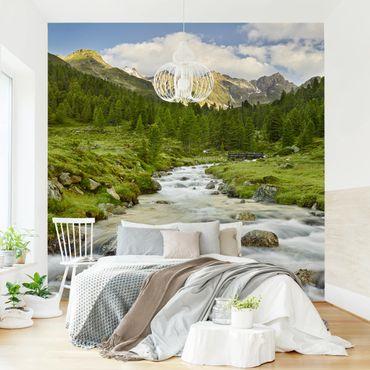Fototapete - Debanttal Nationalpark Hohe Tauern