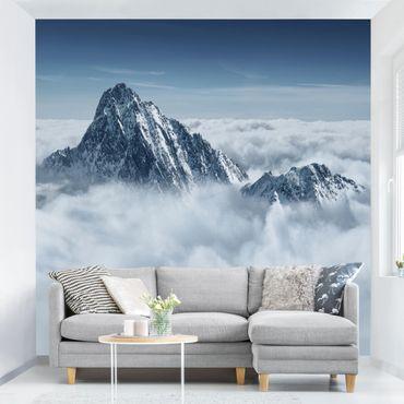 Fototapete Die Alpen über den Wolken