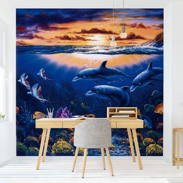 Fototapete Dolphins World