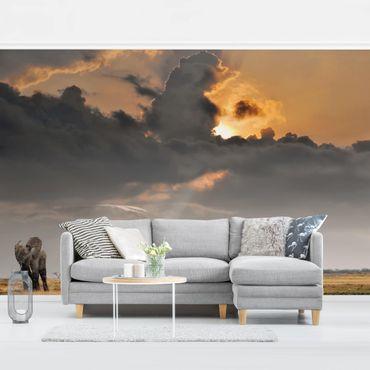 Fototapete Elefanten der Savanne